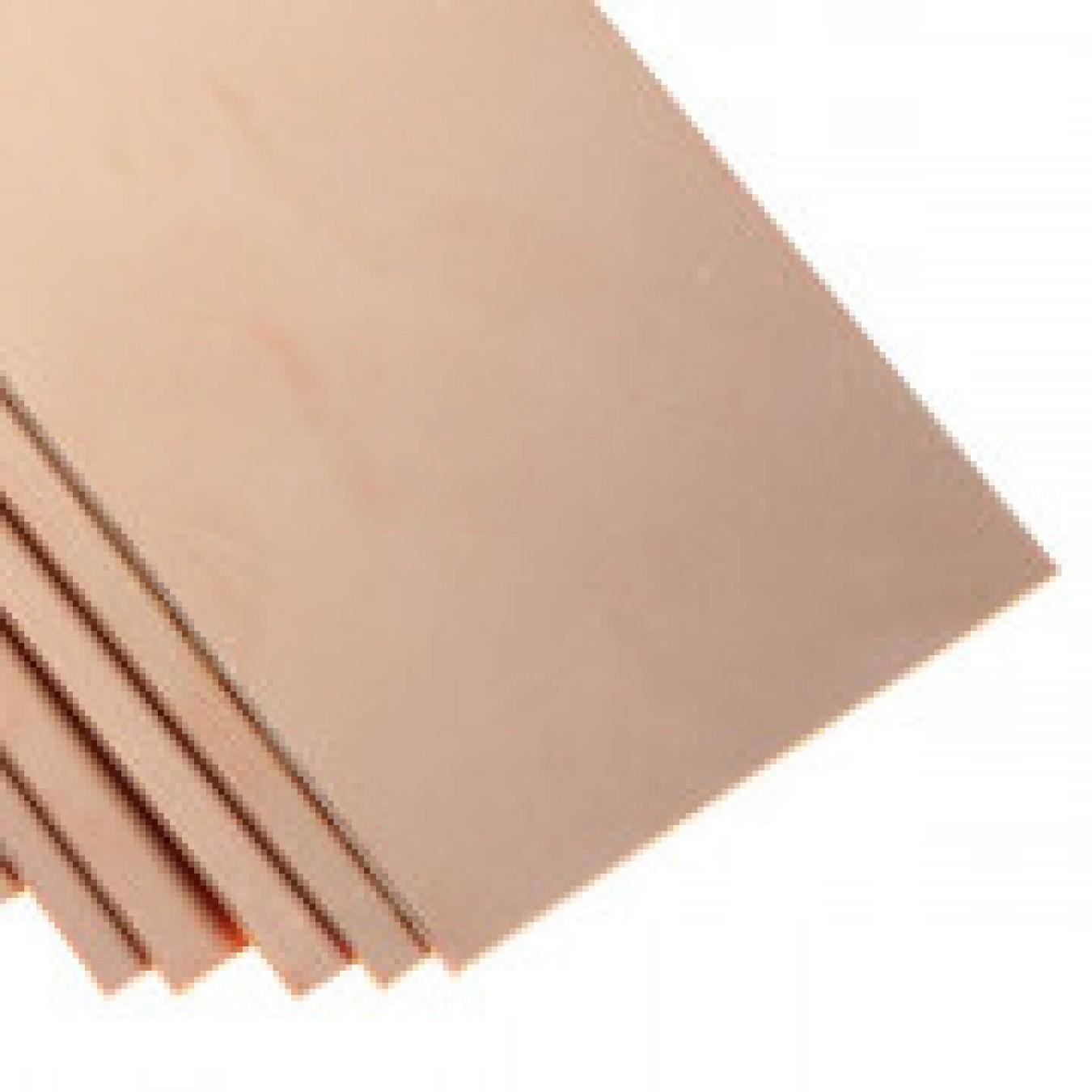Платка Boards Copper Clad Epoxy Glass one-side 1.6 mm 100х200 mm