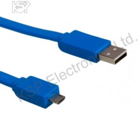 CABLE USB - MICRO USB BLUE