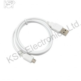 CABLE USB - MICRO USB WHITE
