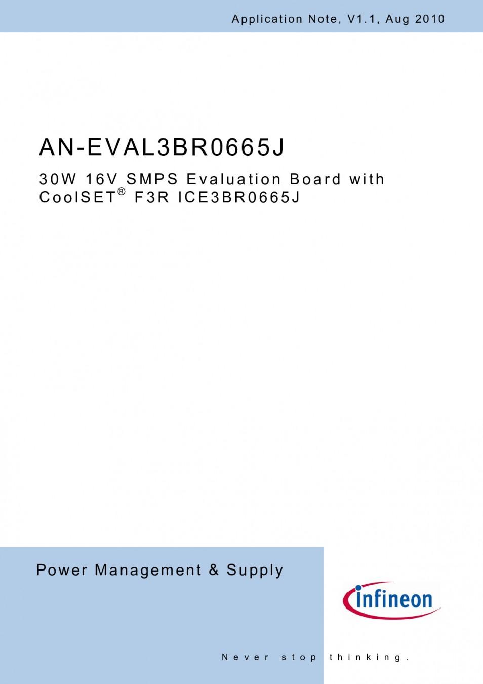 Итегр.схема ICE3BR0665J DIP-8