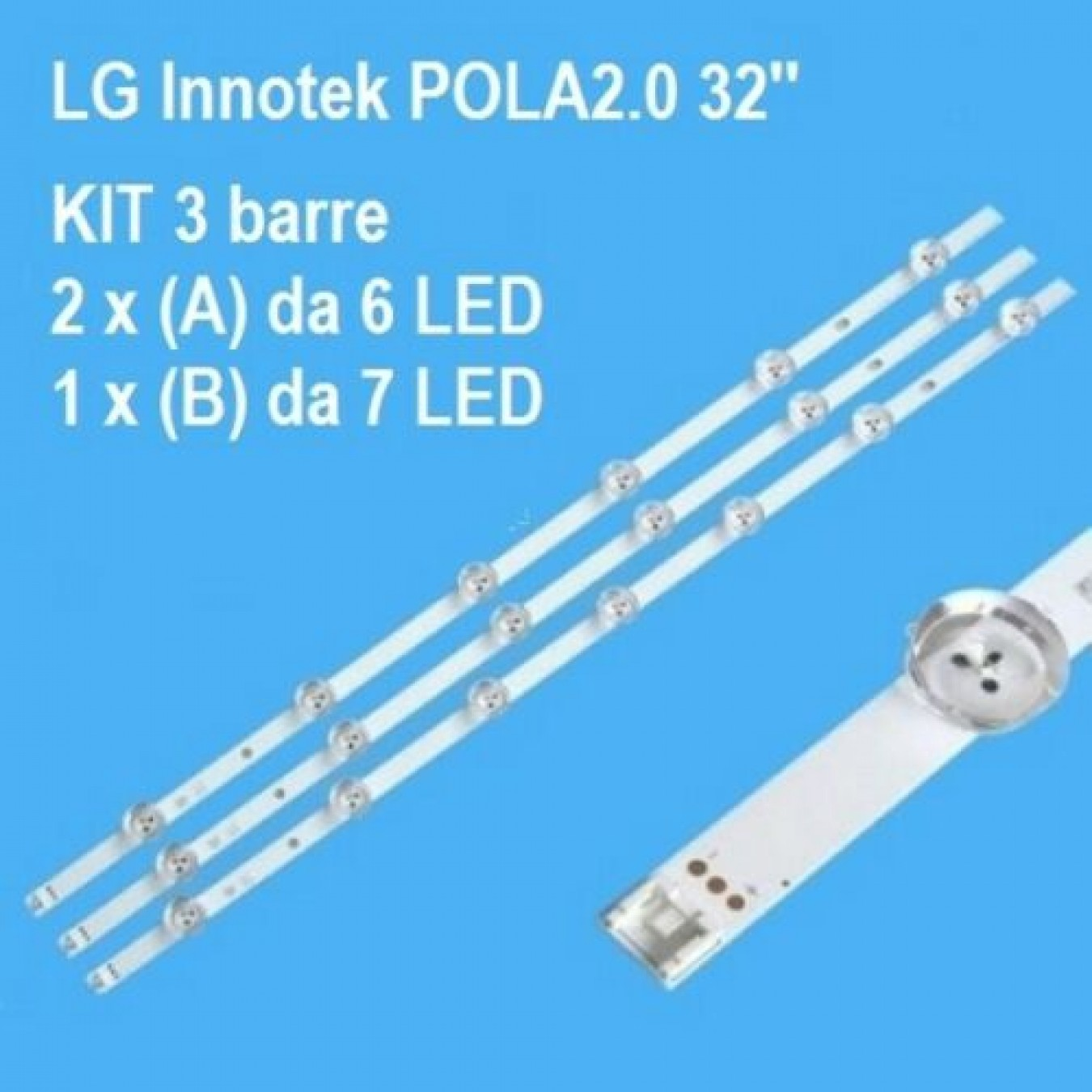 Диодна лента 1бр.LED-233 POLA 2.0 32LN54