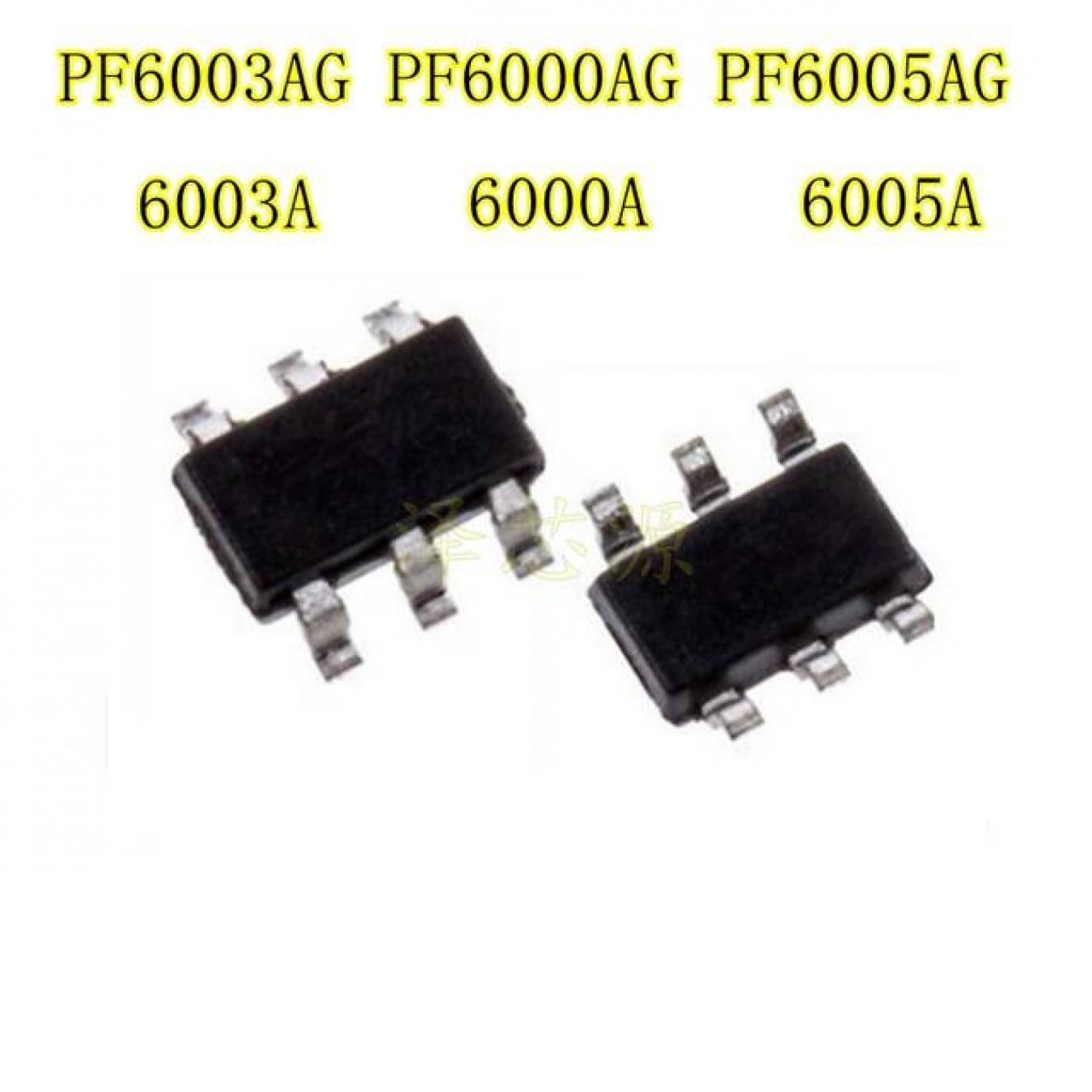 Интегр.схема  PF6003AG SOT23-6