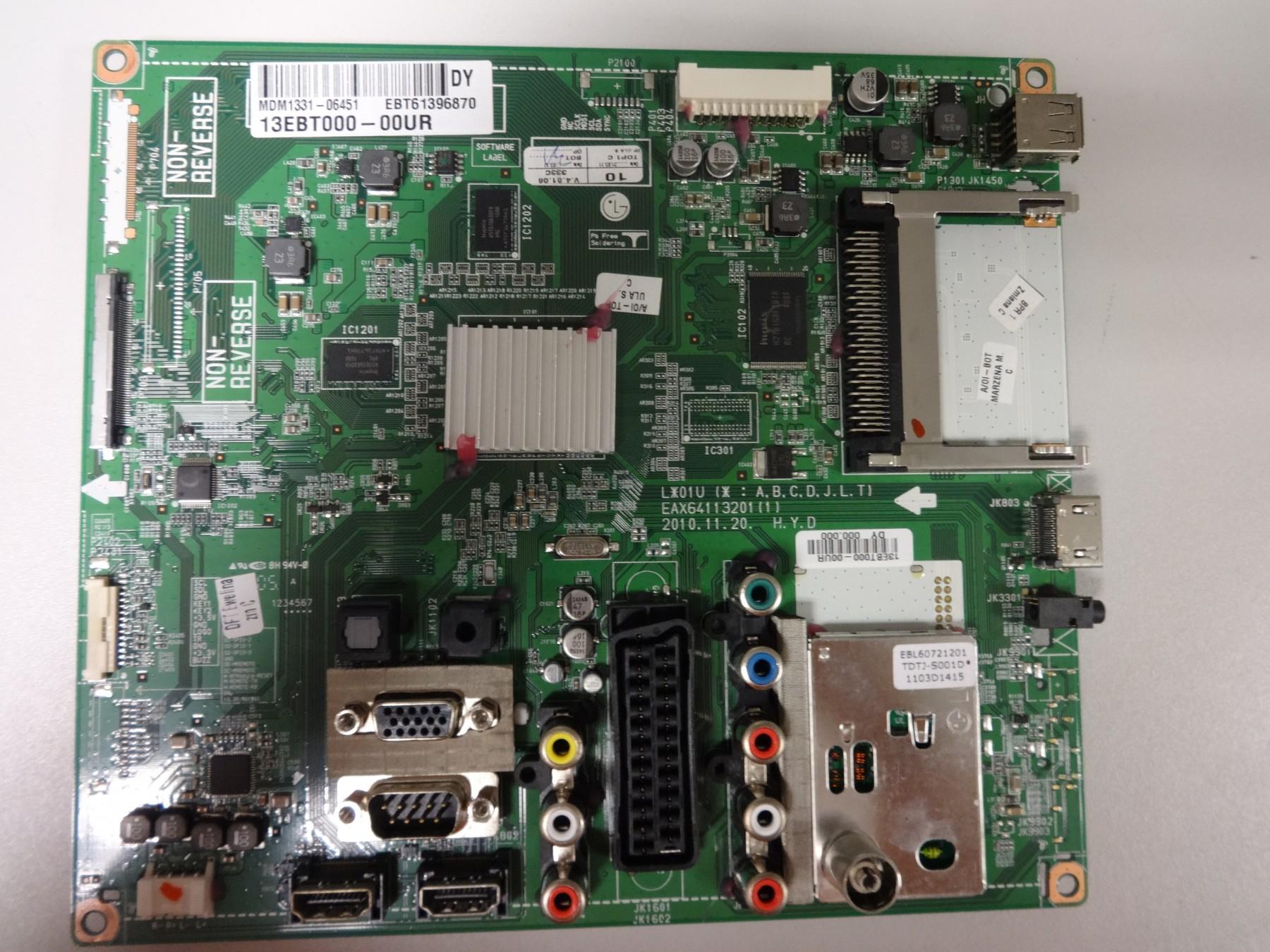 ПлаткаMAIN AV EAX64113201(1) EBT61396870