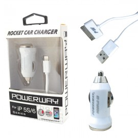 Adapter car 5V 1A X-33 iPhone 4